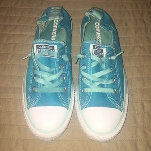 Turquoise Blue Converse